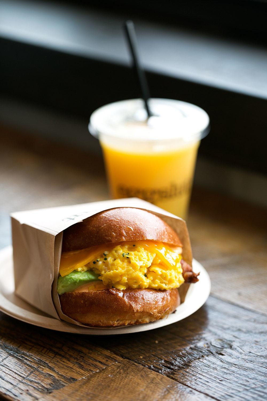 eggslut venice the fairfax egg breakfast sandwich