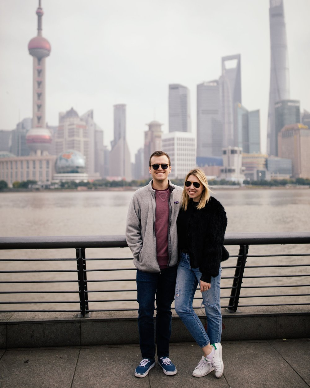 aaron and kylie bund shanghai