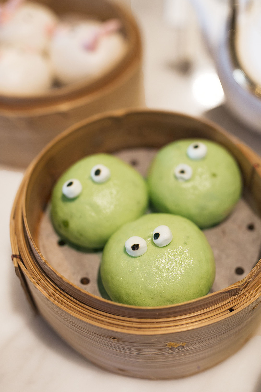 yum cha matcha flavor sweet dumplings