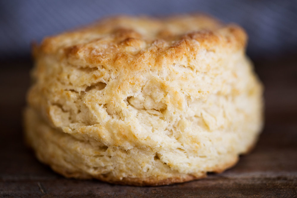 fluffy homemade biscuit