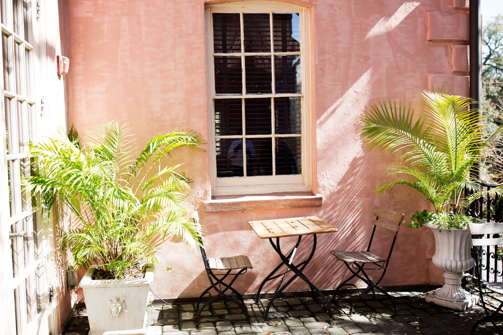 the olde pink house patio savannah ga