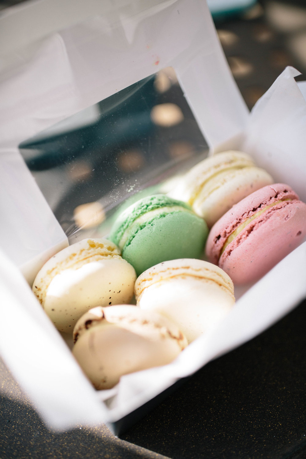macarons from the paris market