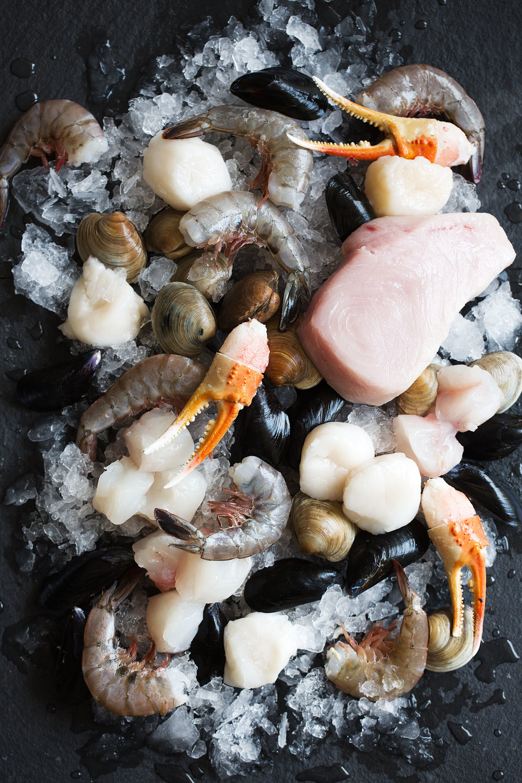 cioppino raw seafood
