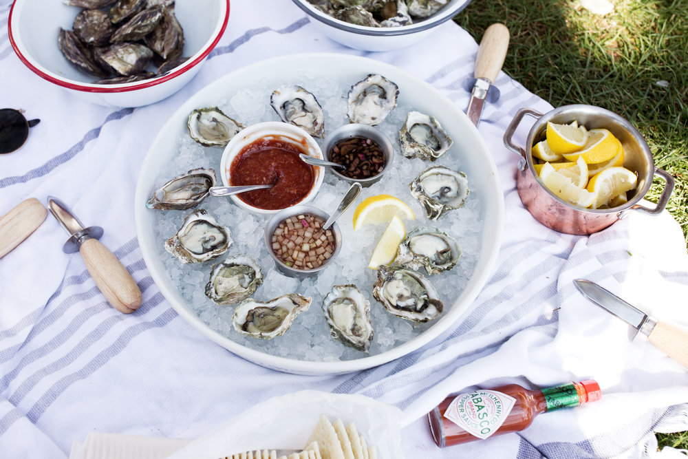 oysters in the park