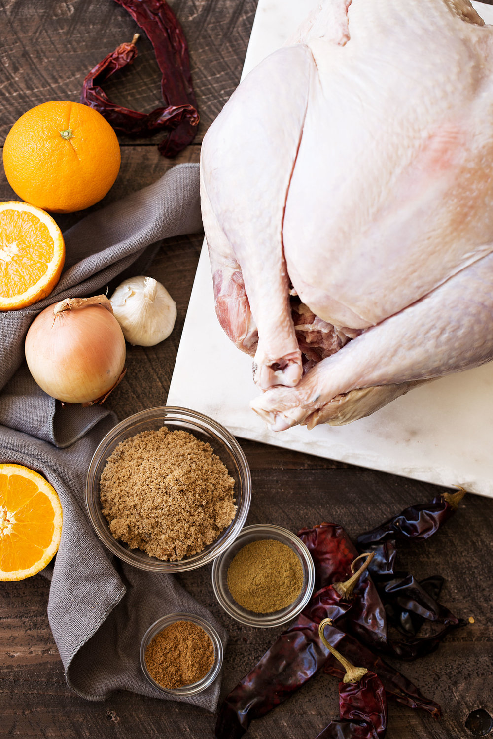 chili rubbed turkey with orange cooking with cocktail rings home depot ingredients turkey