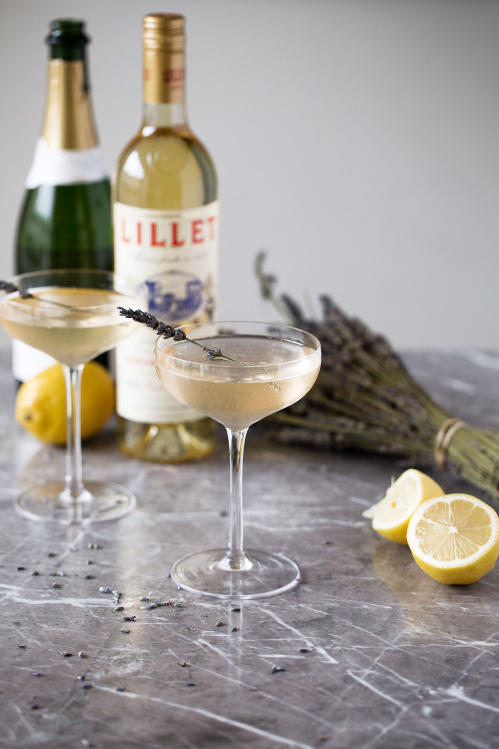 lillet lavender lemon fizz cooking with cocktail rings