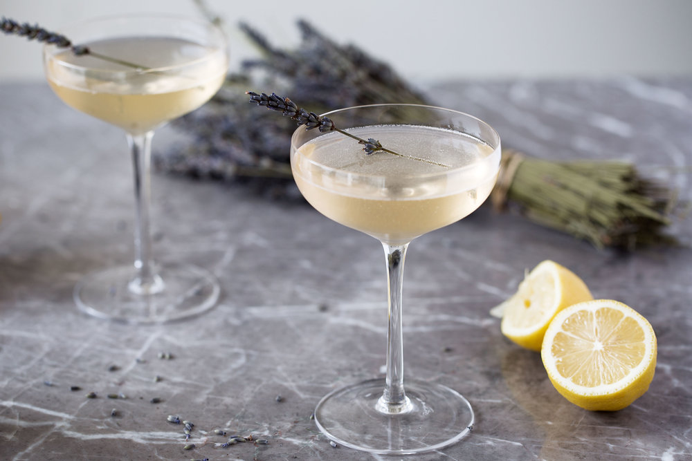 lavender lemon fizz cooking with cocktail rings
