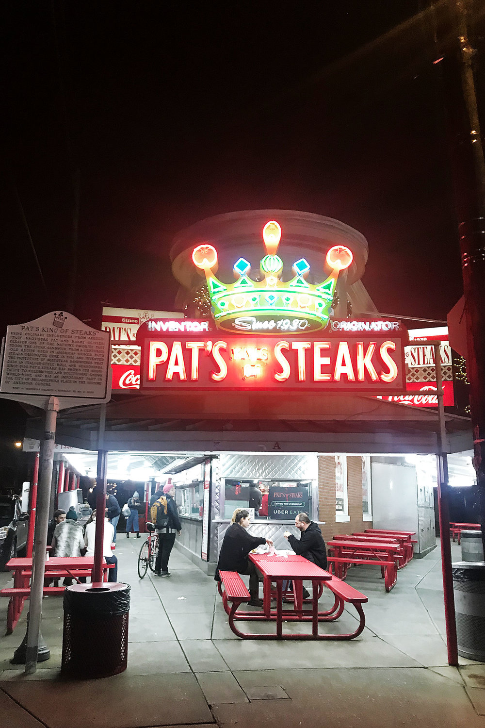 pat's steaks in philadelphia, PA
