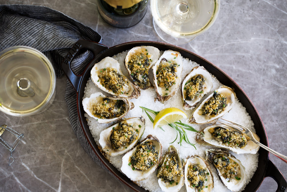 oysters rockefeller recipe from cooking with cocktail rings