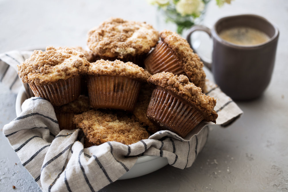 coffee cake streusel muffins from cooking with cocktail rings