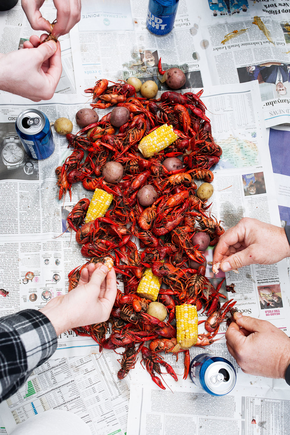 traditional southern crawfish boil recipe from cooking with cocktail rings