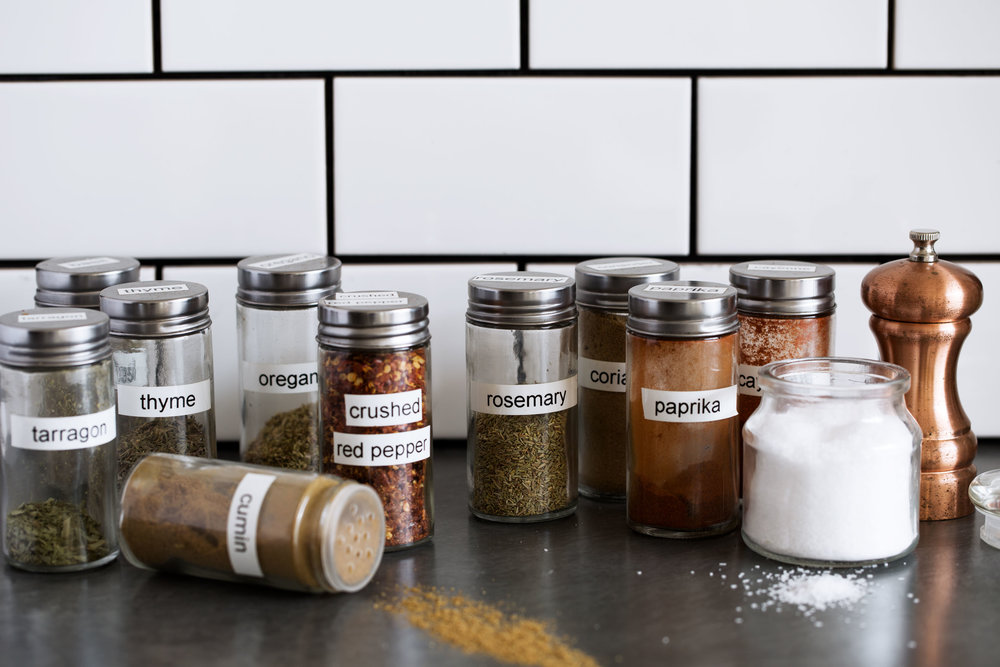 kitchen spices cooking with cocktail rings back to basics