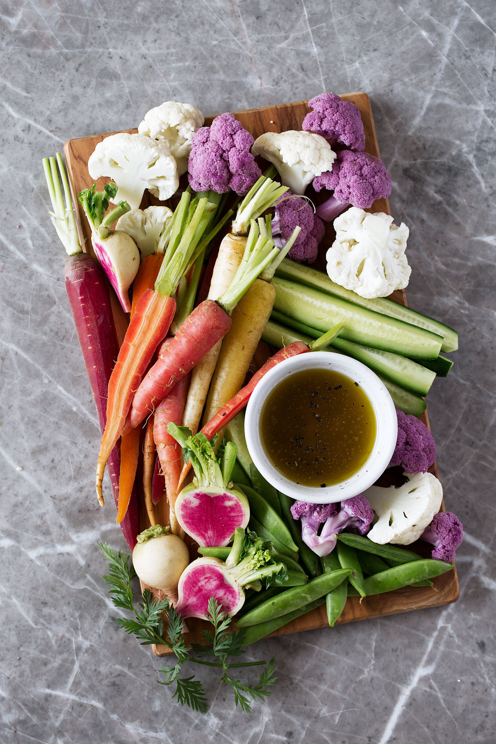 bagna cauda crudité platter recipe from cooking with cocktail rings