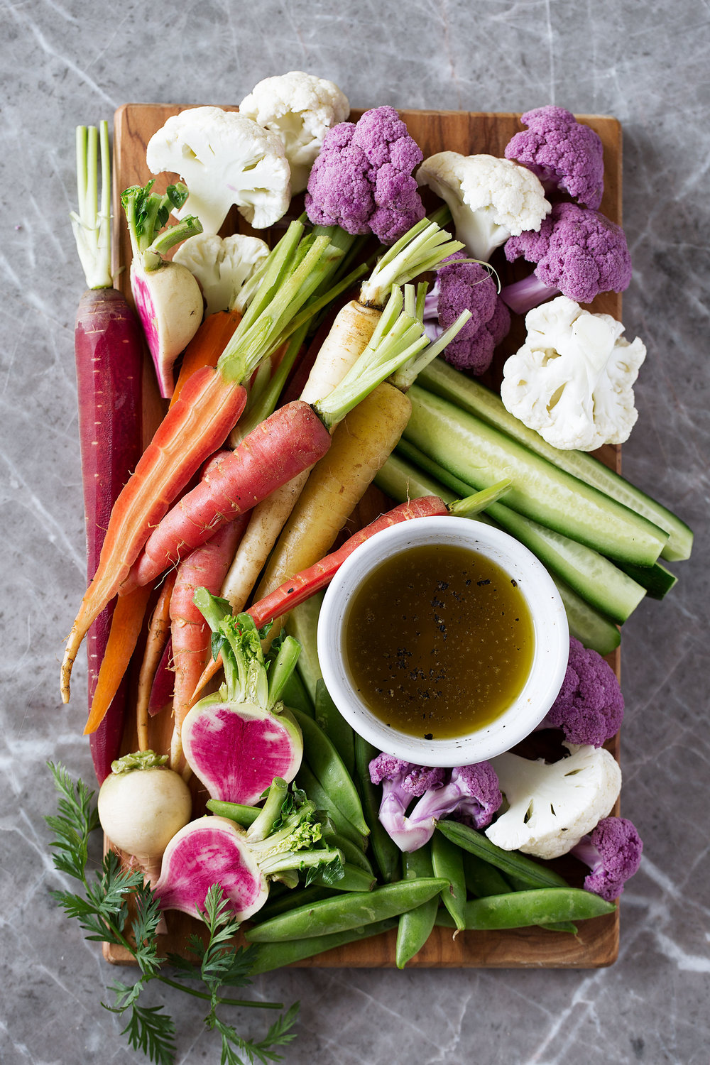 bagna cauda crudité veggie platter recipe from cooking with cocktail rings