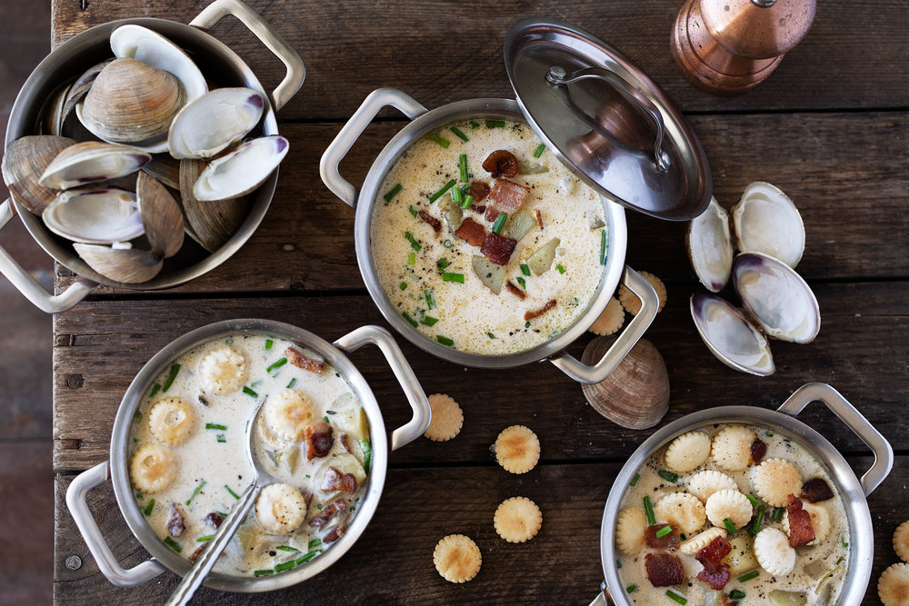 new england clam chowder recipe from cooking with cocktail rings
