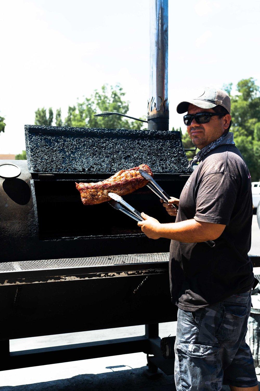Page Arizona Johns BBQ smoker