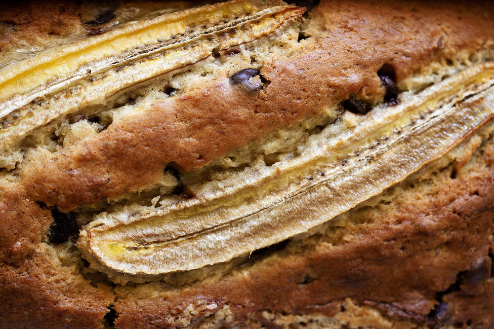 bananas over-ripe for banana bread baked