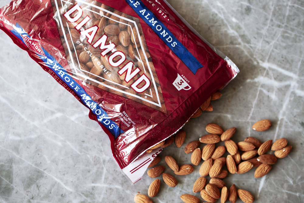 diamond nuts whole raw almonds cooking with cocktail rings
