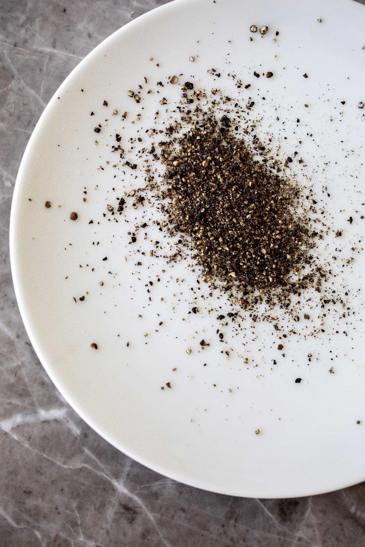 freshly ground black pepper