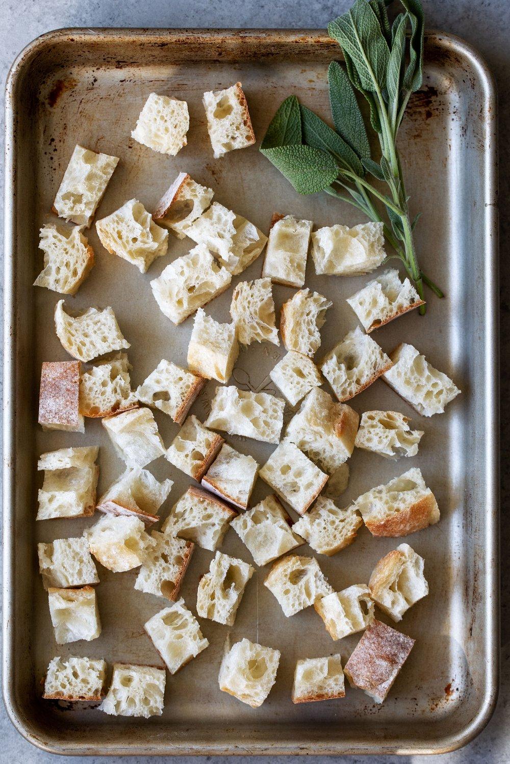 stale ciabatta bread for breadcrumbs