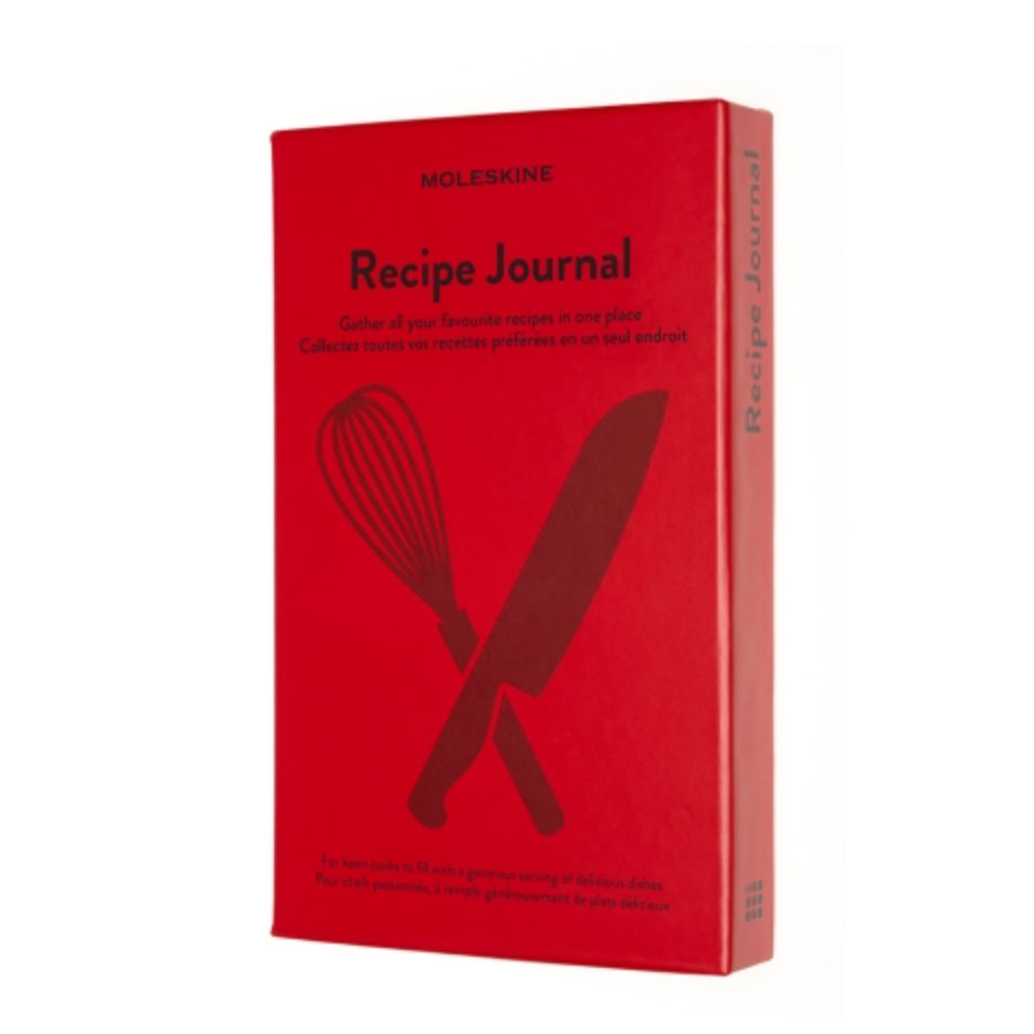 Moleskin Recipe Journal    Save a record of your favorite family recipes, ideas and ingredient combinations in this hardcover notebook.