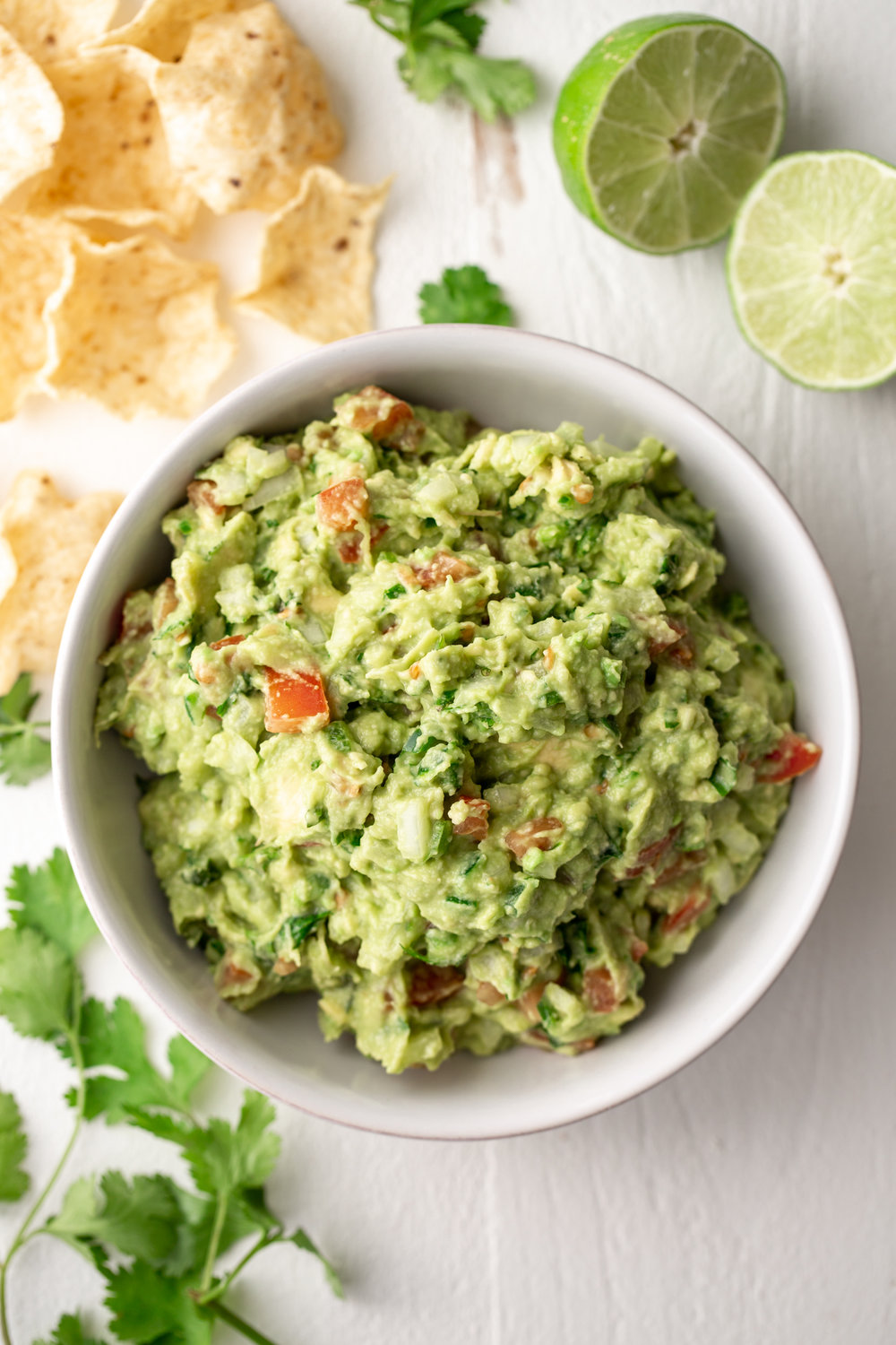 guacamole cooking with cocktail rings
