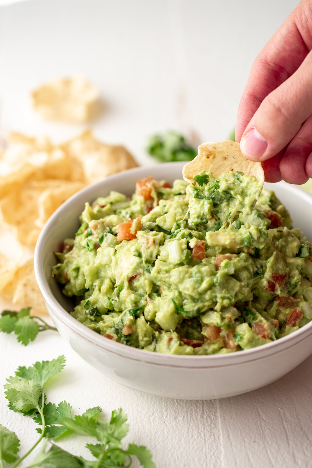guacamole ingredients cooking with cocktail rings