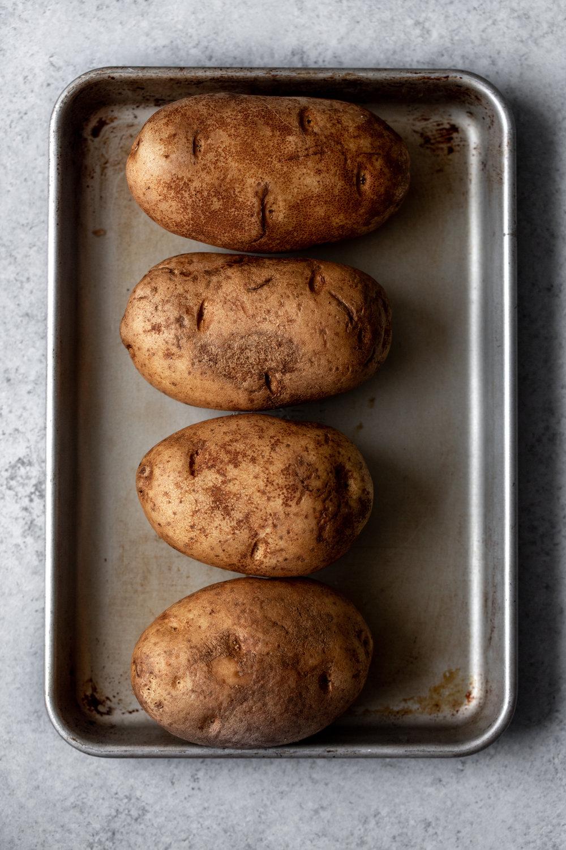 russet potatoes ingredient shot