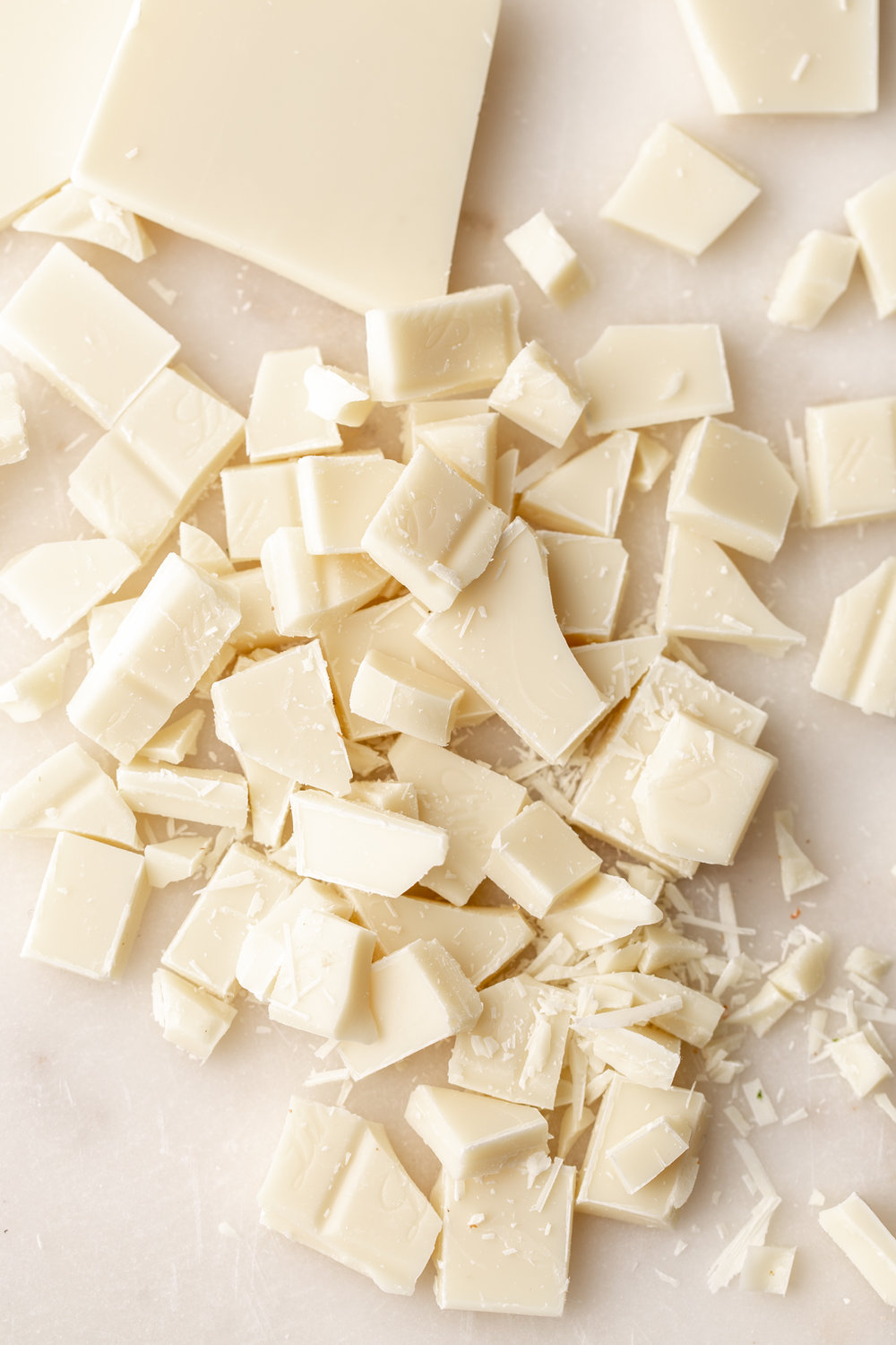 chopped white chocolate ingredient