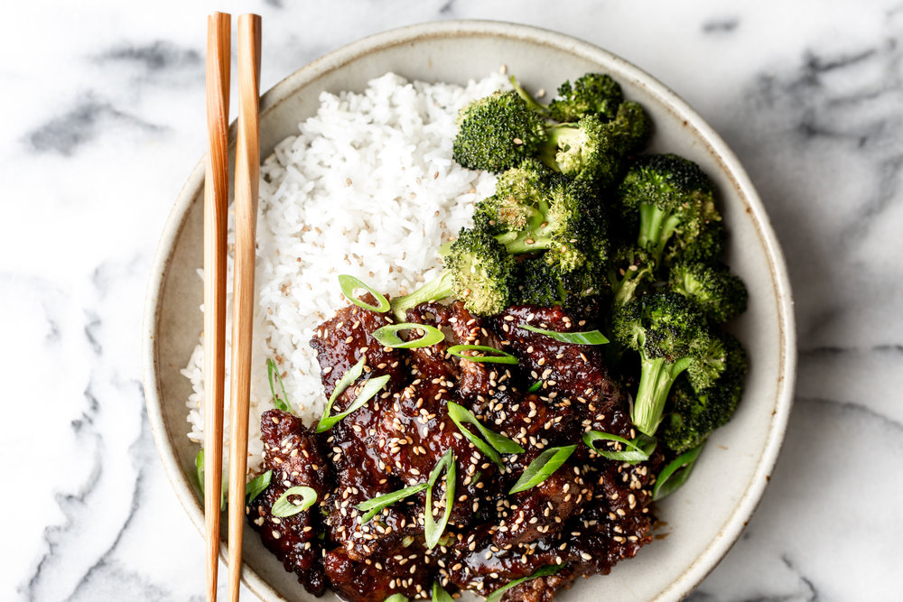 Mongolian beef and broccoli recipe from cooking with cocktail rings