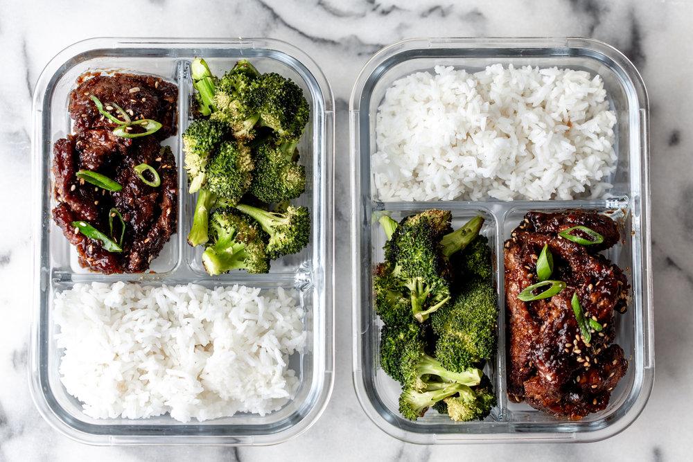 mongolian beef meal prep