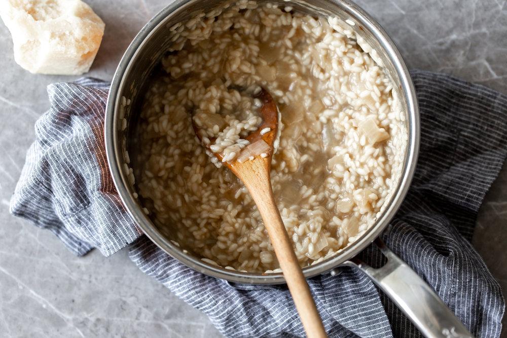creamy risotto arborio rice