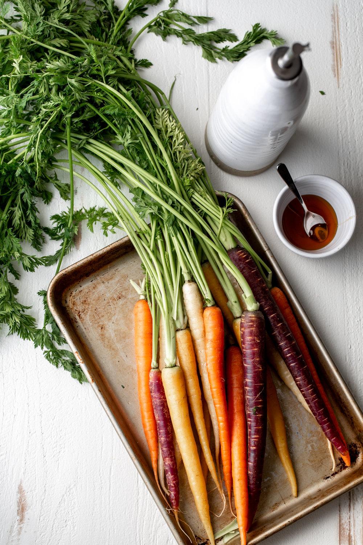Honey Glazed Roasted Carrots ingredient shot