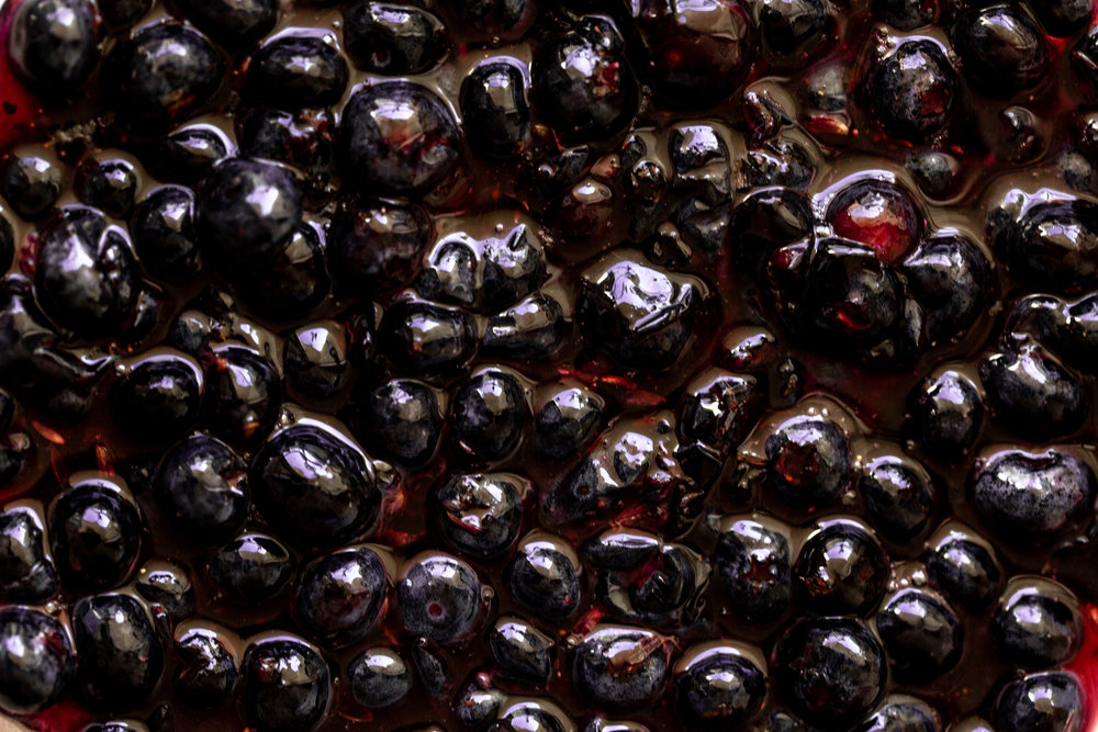 macerated Blueberry