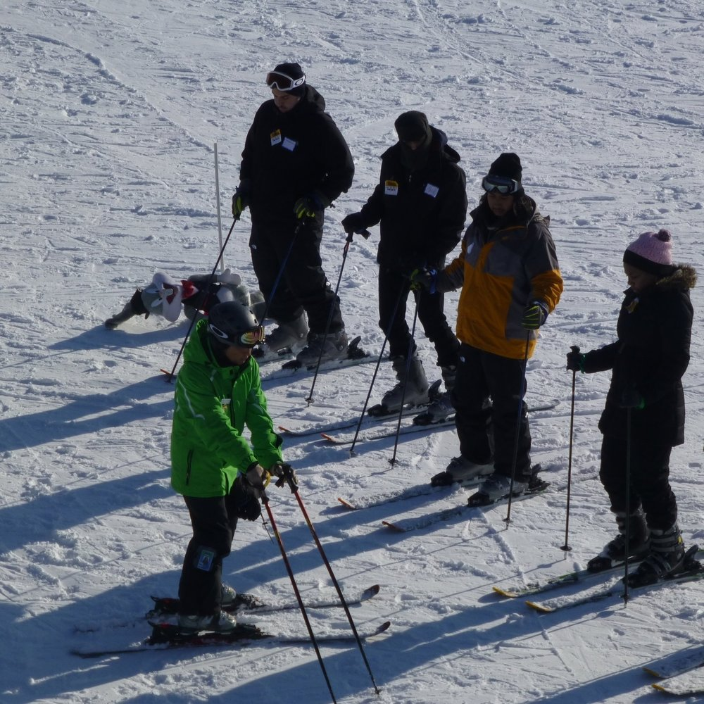 LITTLE BEAR - For those new to skiing or snowboarding. First-time group lesson, beginner area lift ticket and equipment rental. For Ages 6 and up. 1.5 Hour lesson. $70