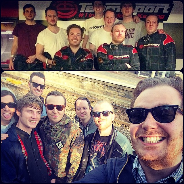 Birthday go karting with the ladz 👍🚗