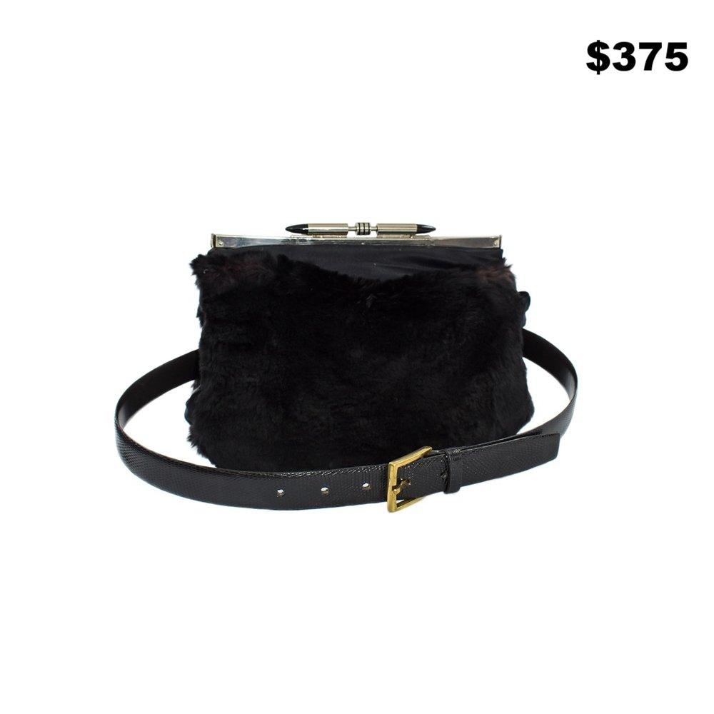 Sheared Beaver Fannypack - $375