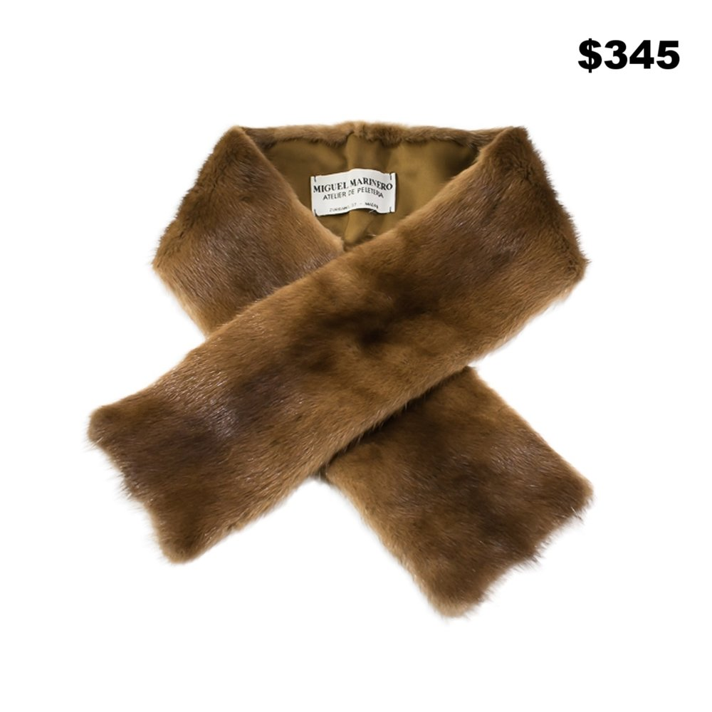 Mink Neck Wrap - $345