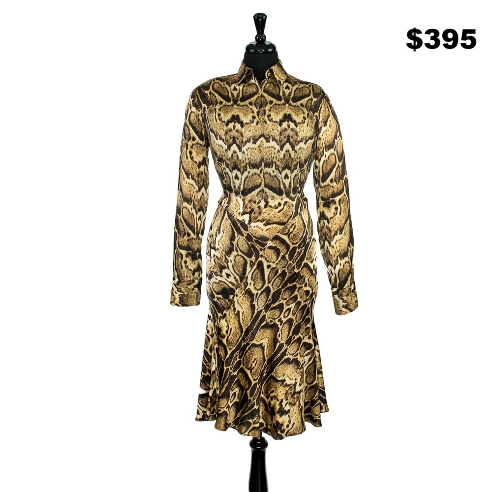 Roberto Cavalli Silk 2 Piece Set