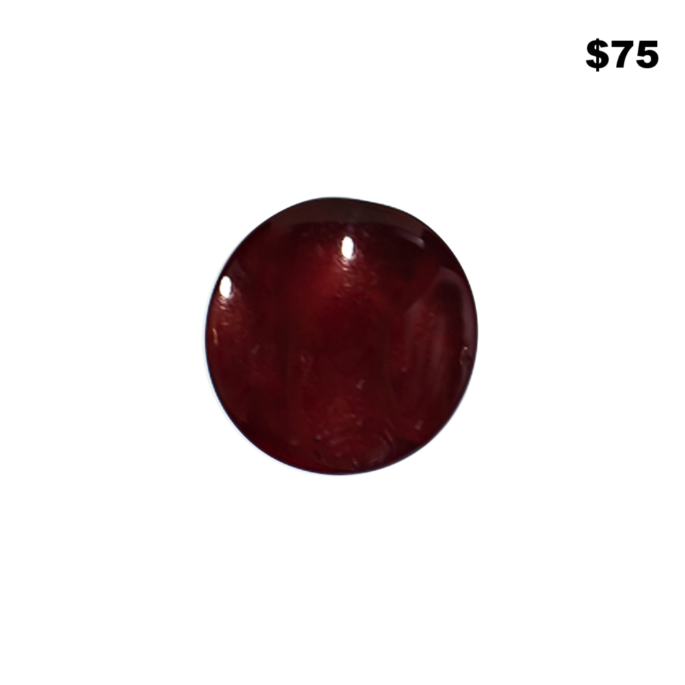 Resin Maroon Ring