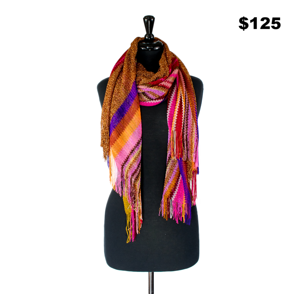 Missoni Pink & Orange Scarf
