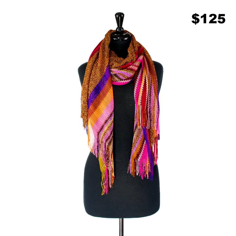 Missoni Pink & Orange Scarf - $125