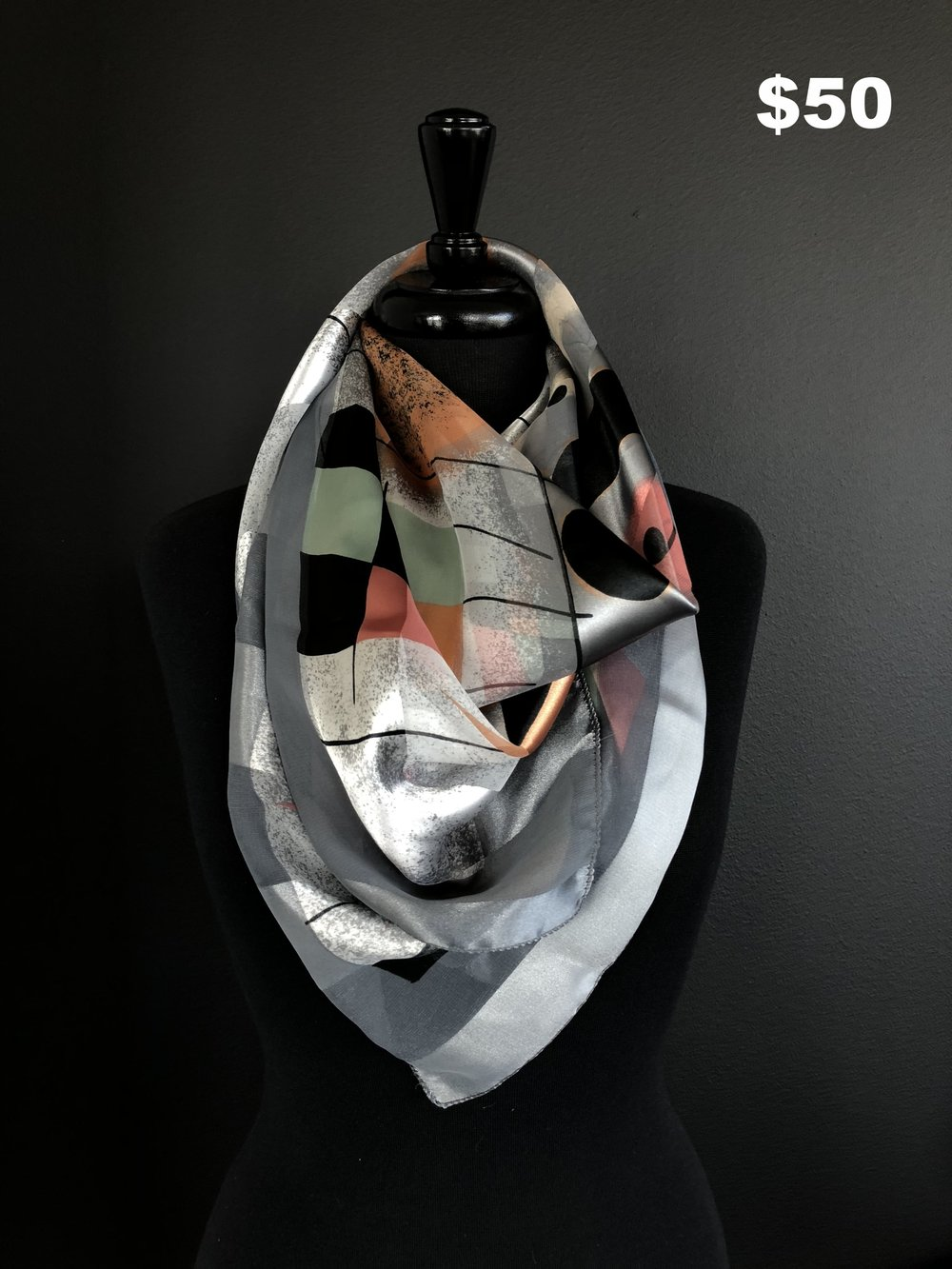 Picasso Scarf - $50