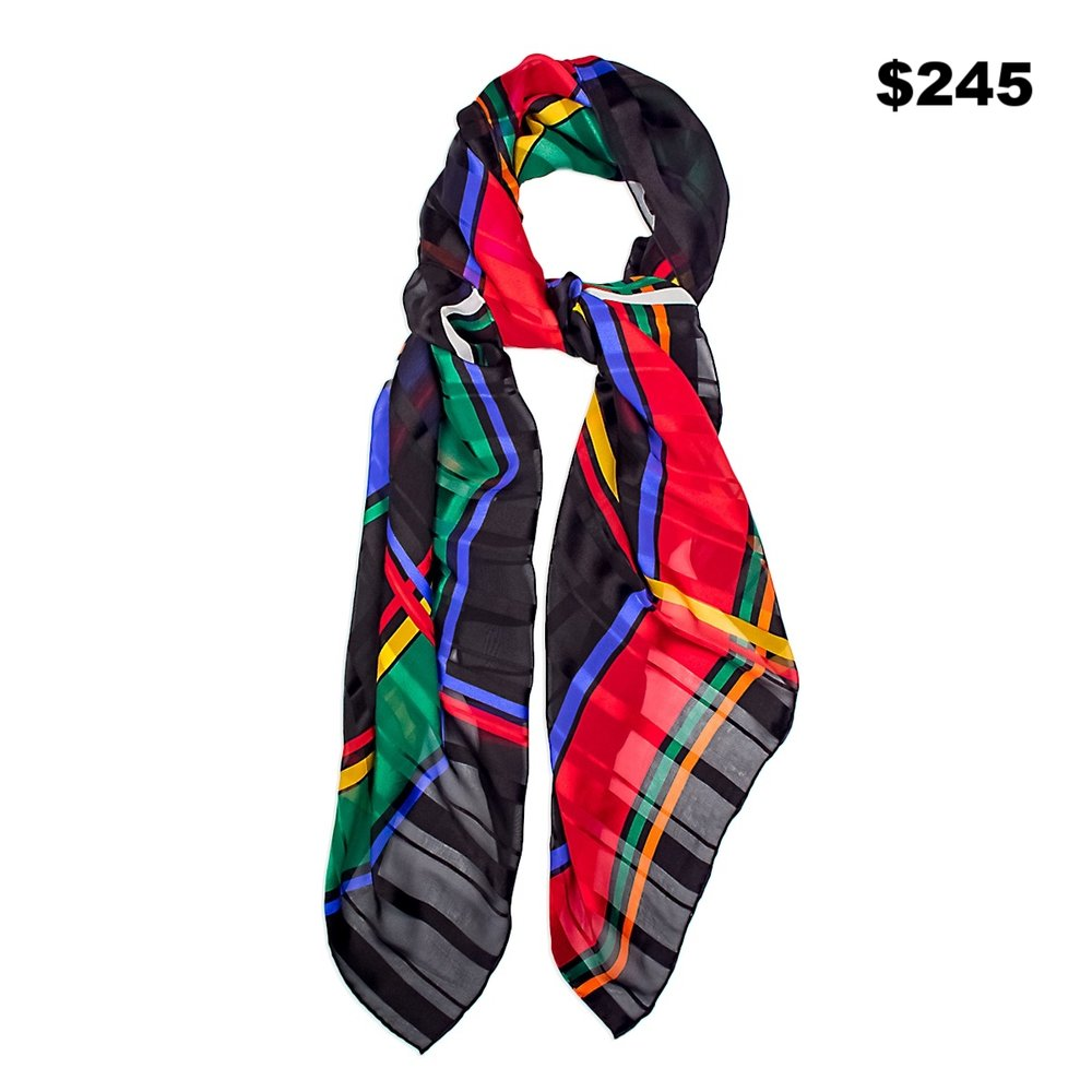 Pirmary Color  Scarf - $245