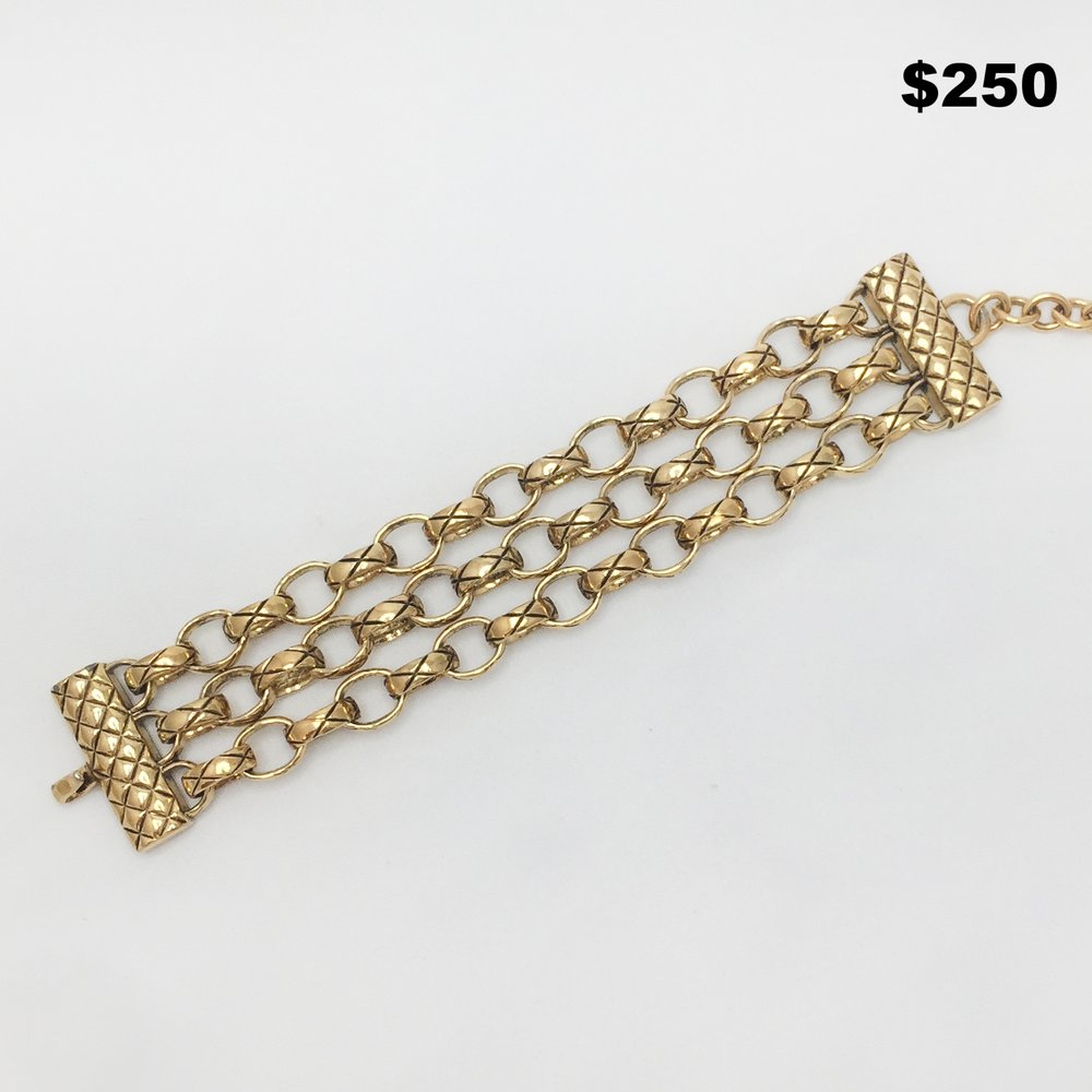 Joan Rivers Chanel Style Bracelet