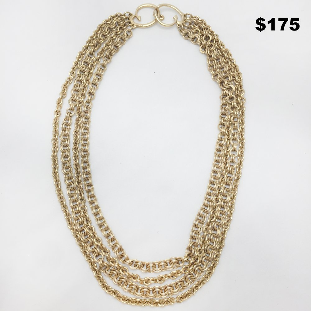 Oscar De La Renta Necklace - $175