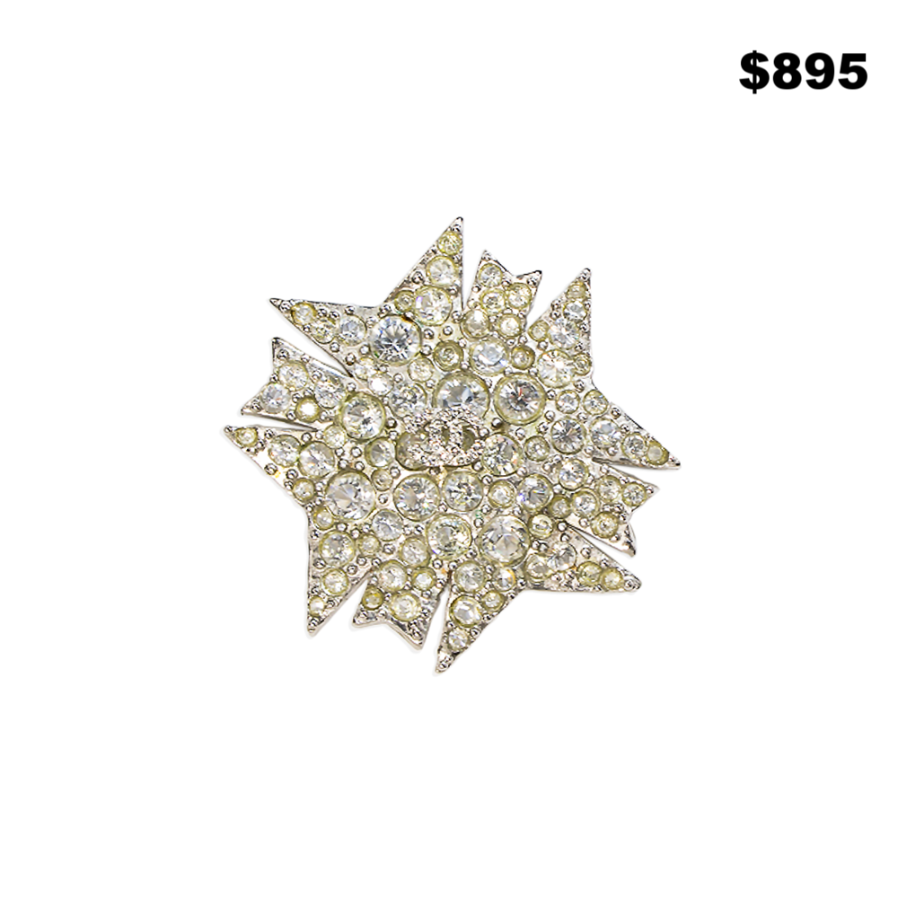 Chanel French Crystal Pin - $895
