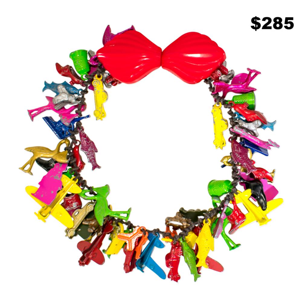 Crazy Charm Necklace - $285