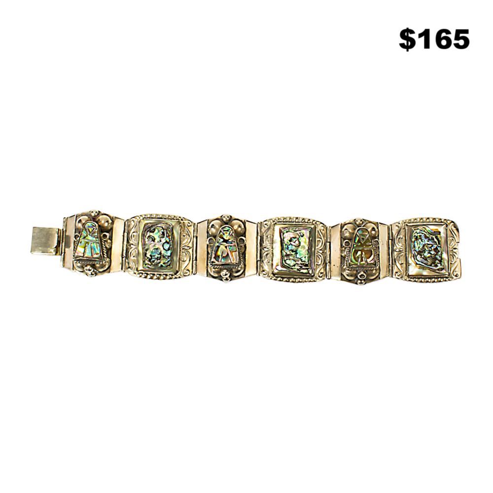 Signed Abalone Bracelet - $165