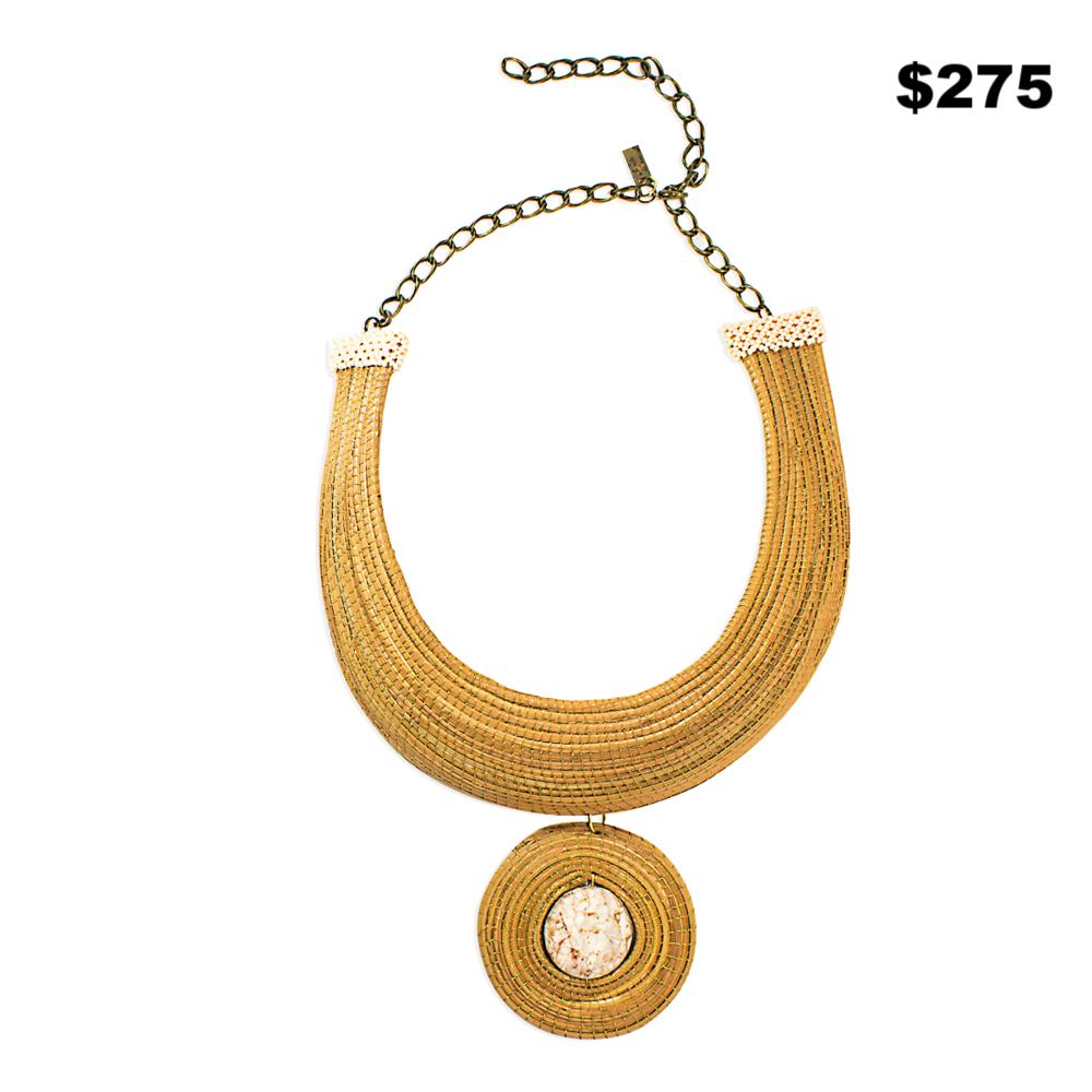 Oxacal Pine Necklace - $275